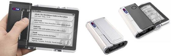 Cellular-Book – первая коммерческая продукция с гибкими экранами