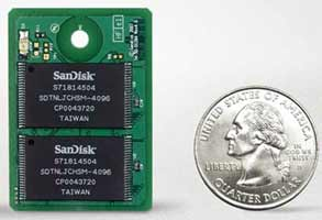 SanDisk uSSD 5000. Флэш-диск для дешёвых лэптопов.
