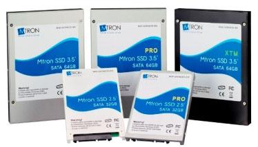 SSD-накопители Mtron. Настольный и мобильный варианты.