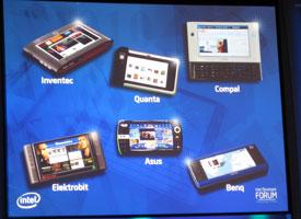 Прототипы платформы UMPC 2008