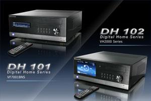 Корпуса Thermaltake DH 101, DH 102 (DH – Digital Home)
