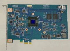 PCIe x1 адаптер медийного ускорителя Toshiba