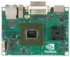 Pico-ITX плата на NVIDIA GeForce 9400M и Intel Atom N270
