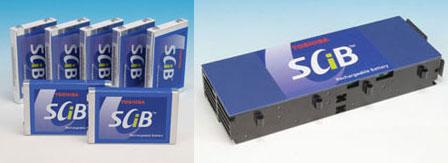 Наборные ячейки SCiB иSuper Charge ion Battery