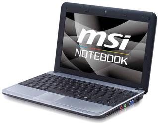 MSI U115 Hybrid: нетбук на платформе для «мобил»