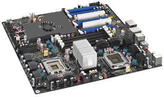 Intel D5400XS: плата для элитных двухпроцессорных игровых компьютеров