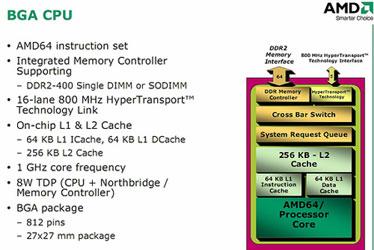 Блок-схема процессора AMD для неттопов и нетбуков?