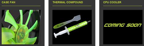 Новая компания начинает с корпусных вентиляторов и термопасты