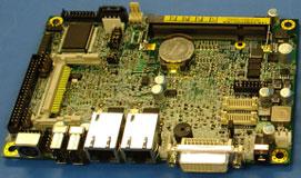 Плата AMD K8 BGA (вид сверху)