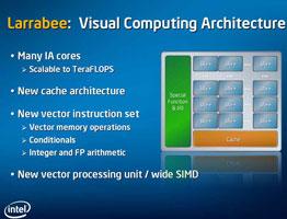 Intel Larrabee: много ядер, новый кэш и векторный процессор