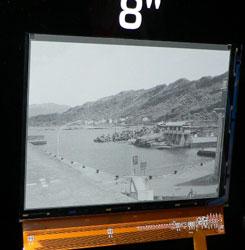 8-дюймовый электрофоретический дисплей компании CPT (технология SiPix Imaging)