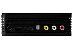 Ничего лишнего – USB, HDMI и RCA