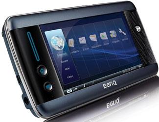 BenQ S6. Первый MID для сетей третьего поколения доступен в Европе.