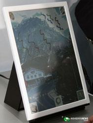 Прототип 13-дюймовой цветной электронной книги Bridgestone