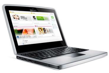 Мини-ноутбук aka нетбук «Nokia Booklet 3G»