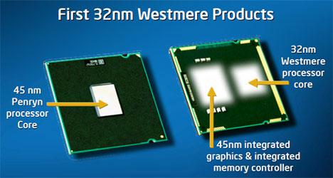 Архитектура Westmere: многочиповая упаковка и 32-нм ядра