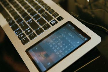 ASUS HTPC. Медиацентр в клавиатуре с сенсорным экраном.
