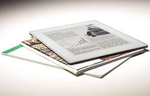 Plastic Logic Reader — книга, с пластмассовым экраном