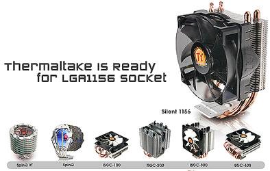 Thermaltake Silent 1156 — компактный кулер для Lynnfield