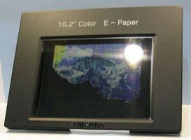 Прототип двухрежимного экрана Samsung на холестерических кристаллах