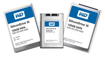 SiliconDrive: первые SSD Western Digital