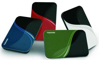 Портативные накопители Toshiba
