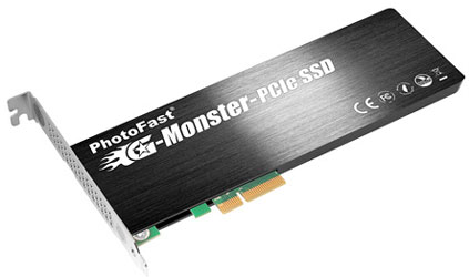 PhotoFast G-Monster PCIe SSD
