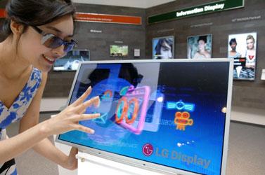 23-дюймовая 3D-панель LG с поддержкой Full-HD