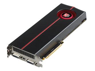 Эталонный дизайн двухпроцессорной видеокарты ATI Radeon HD 5970