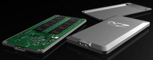 Макет SSD OCZ с интерфейсом USB 3.0