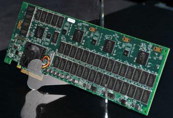 Прототип SSD Intel с интерфейсом PCIe