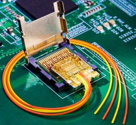 Прототип разъёма для внешнего оптического интерфейса