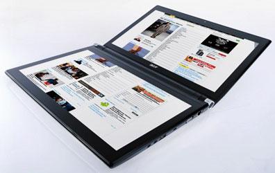 Acer Iconia. Ноутбук с двумя 14