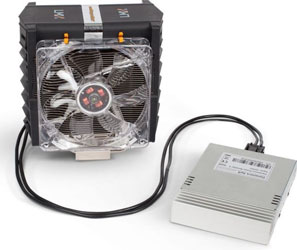 Кулер на жидком металле Danamics LMX Superleggera с блоком PowerBooster 2