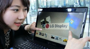 LG сертифицировала панель для Multi-Touch под Windows 7