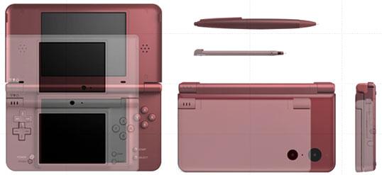 Сравнение размеров новой Nintendo DSi XL и предыдущей модели
