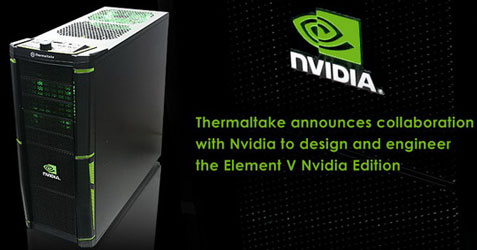 Element V Nvidia Edition — первая «коробочка» для Fermi SLI?