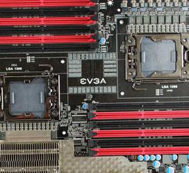 Два LGA1366-процессора на одной плате