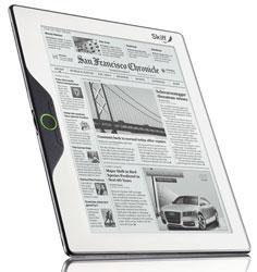 Skiff Reader — электронная газета, весом в полкило