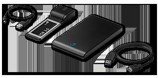 Набор Seagate BlackArmor PS 110