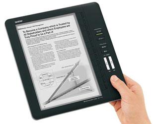 Электронная книга Brother SV-70 для безбумажного офиса