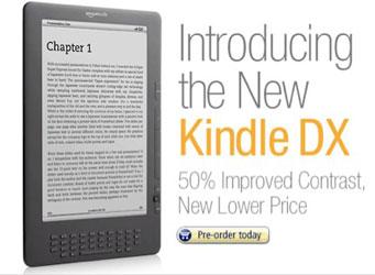 Обновлённая книга Kindle DX по новой цене!