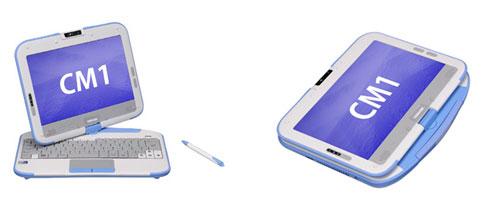 Разработка Intel Classmate PC становится моделью Toshiba CM1