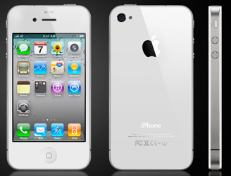 Белый Apple iPhone 4