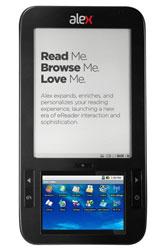 Электронная книга Alex eReader с 6-дюймовым E Ink и 4,7-дюймовым цветным LCD
