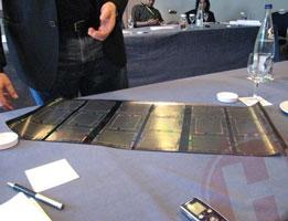 Лента-полуфабрикат с дисплеями HP