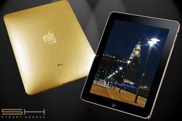 Apple iPad в корпусе из чистого золота