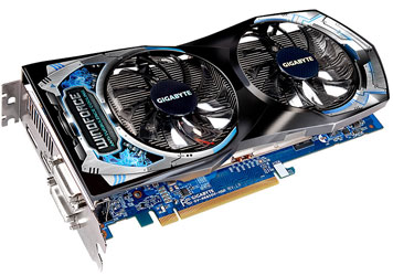 Вариант Radeon HD 6850 компании Gigabyte (GV-R685D5-1GD)