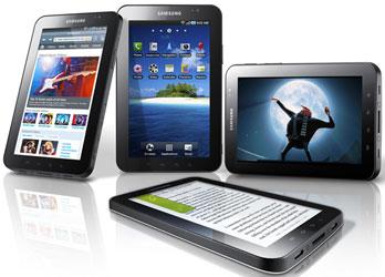 Samsung Galaxy Tab: планшетка на Android с экраном 7 дюймов по диагонали