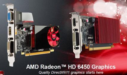 AMD Radeon HD 6450 на вкус: шумная и бесшумная